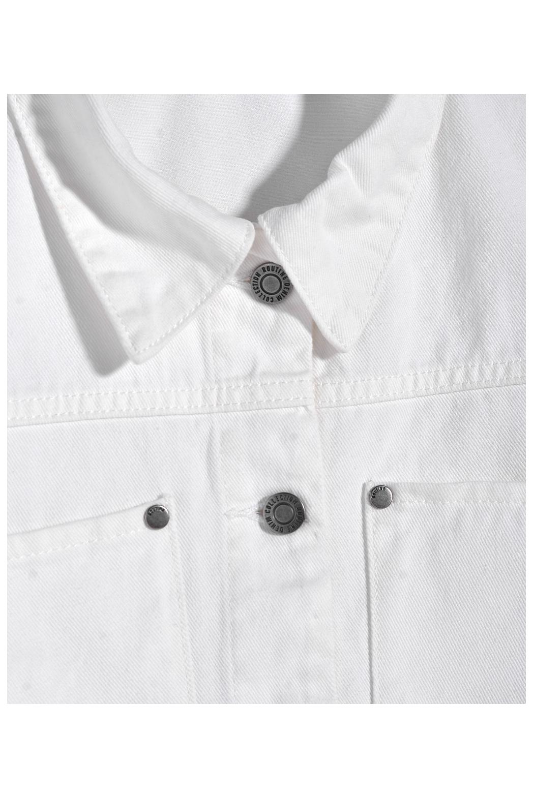 Áo khoác Jean nữ. Cotton - 10F20DJAW003