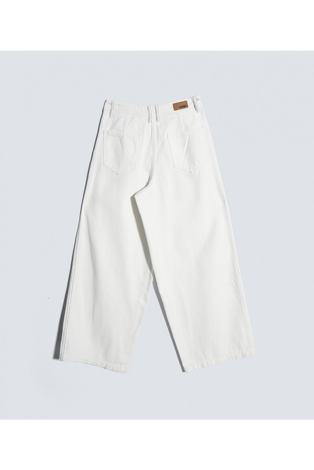 Quần Jean nữ ống rộng. Cotton - 10F20DPAW008