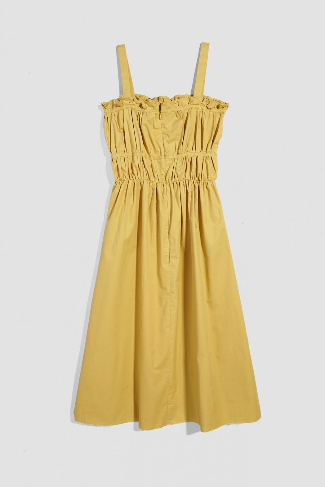 Đầm nhún ngực. Cotton Brush - 10F20DREW002