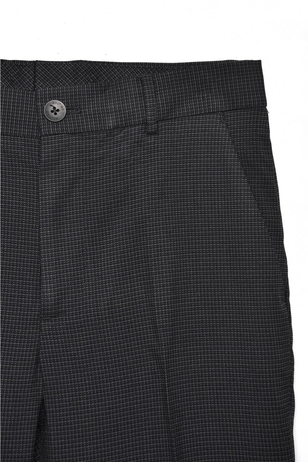 Quần vải. Stripe. SLIMCROP form - 10F20PFO011