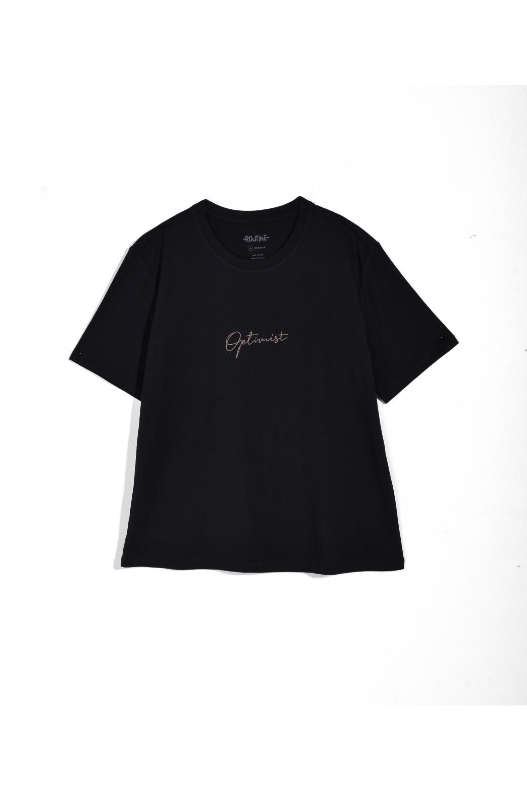 Áo thun tay ngắn, có Print. Cotton - 10F20TSHW002
