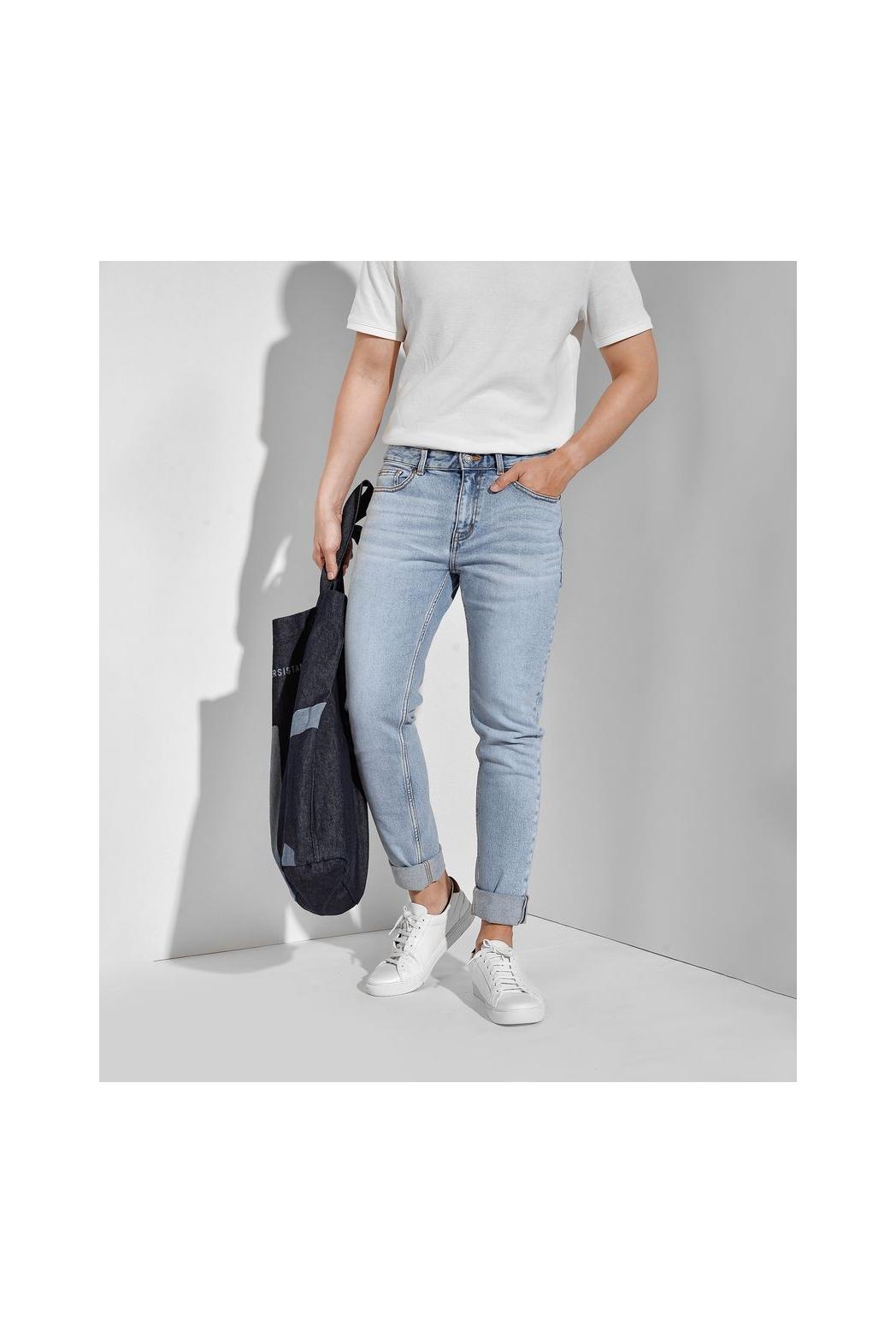 Quần Jean trơn. Cotton. SKINNY form - 10F20DPA062