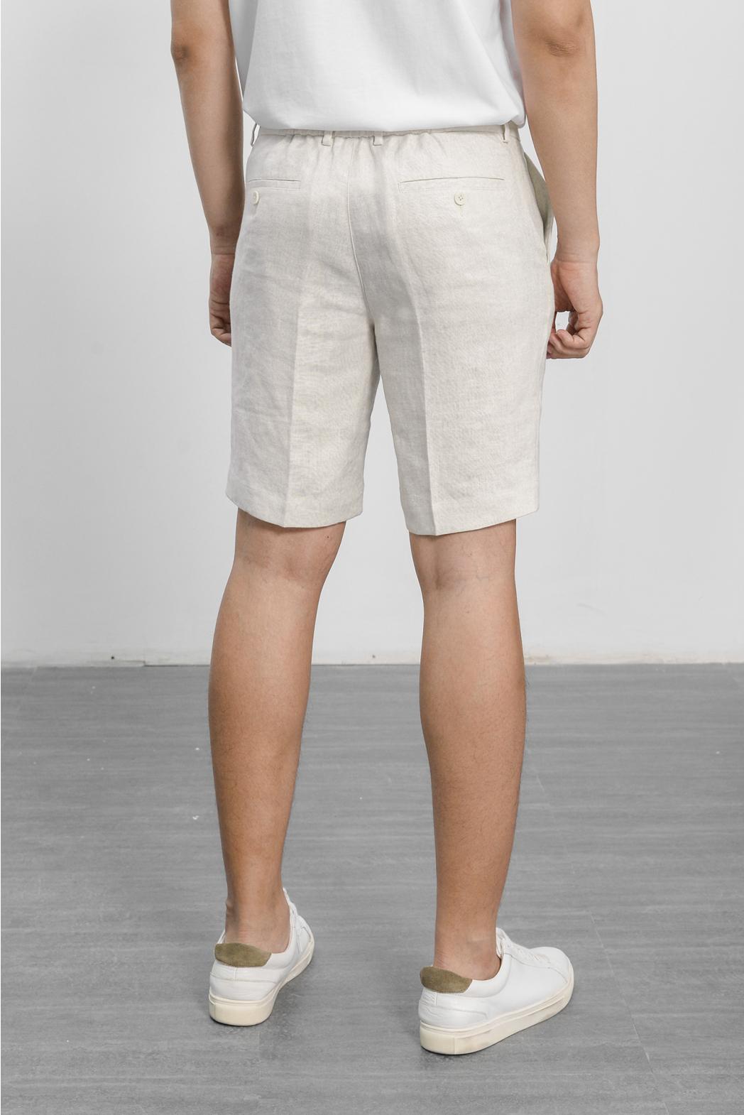 Quần short, lưng chun. STRAIGHT form - 10S21PSH002