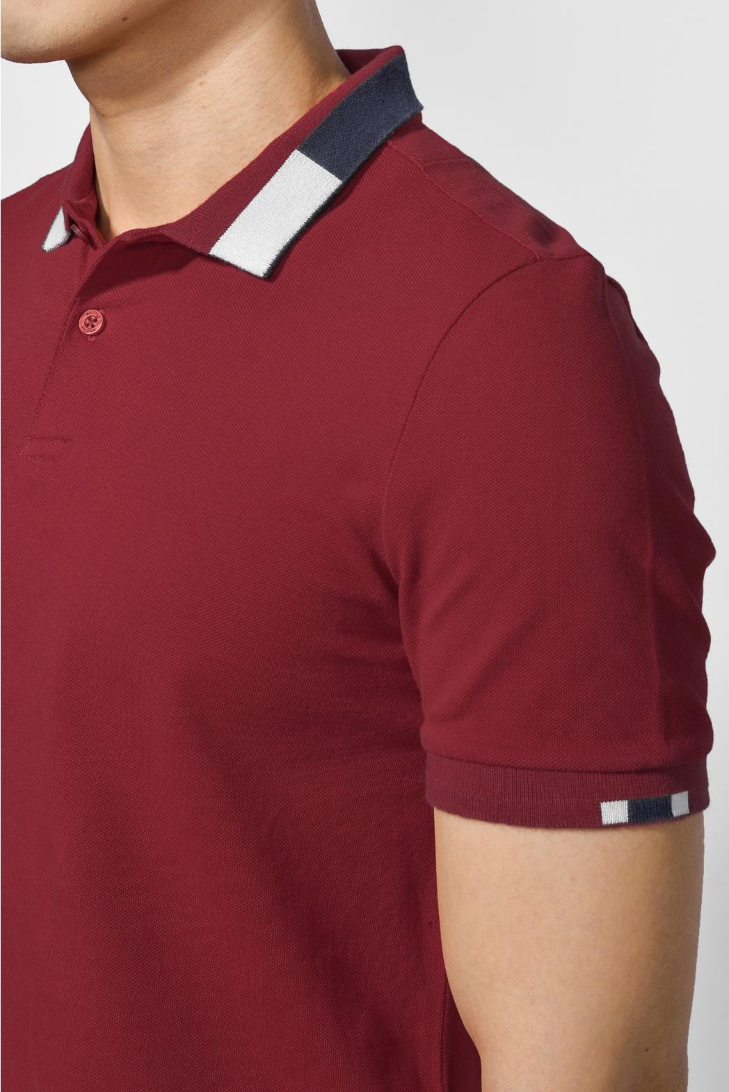 Áo polo, cổ áo phối màu. FITTED form - 10F20POL007
