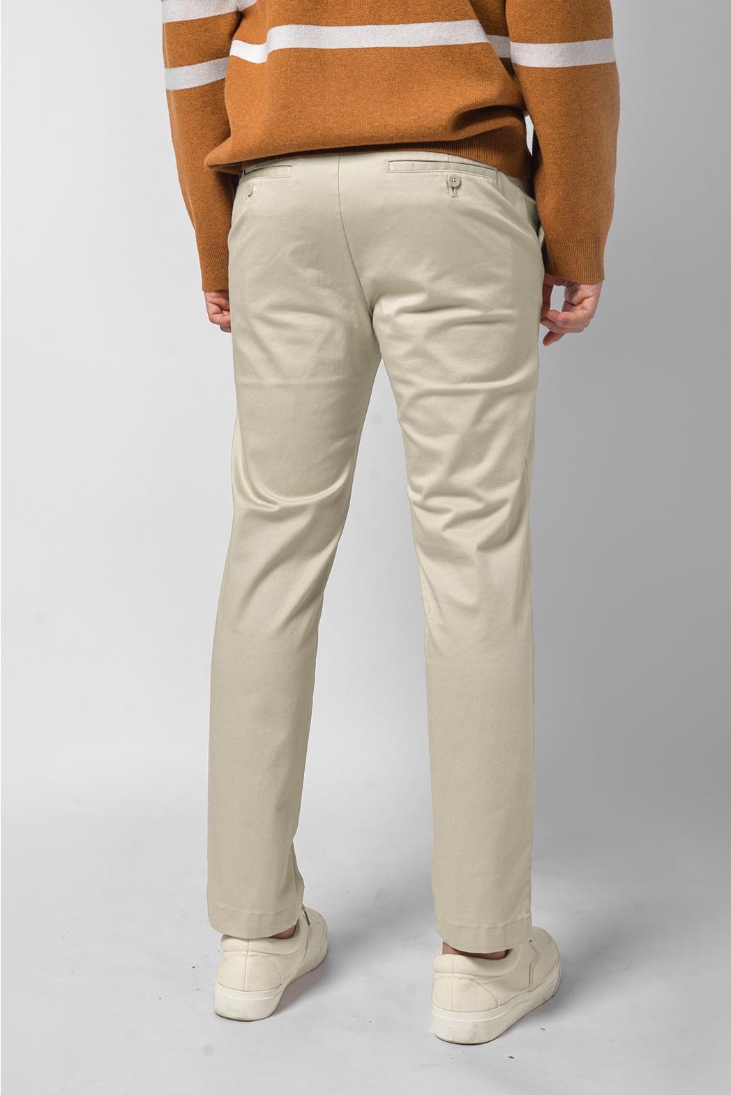 Quần kaki. Cotton. SLIM CROP form - 10F20PCA004