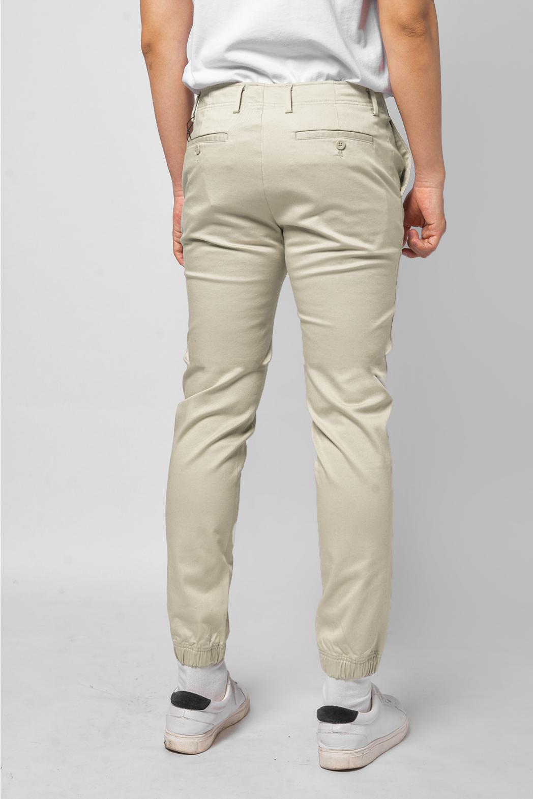 Quần kaki. Cotton. SLIM CROP form - 10F20PCA005