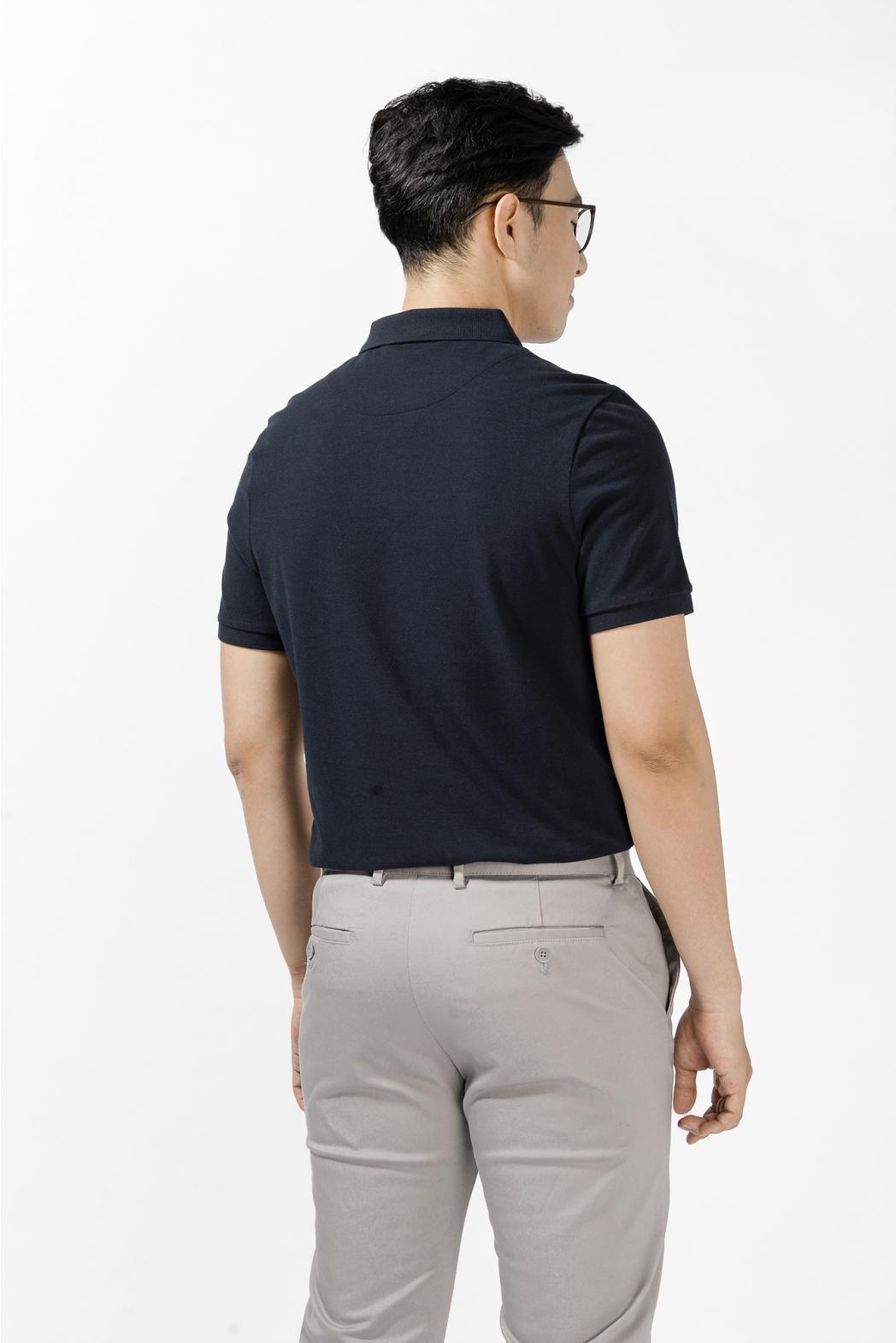 Áo Polo phối rã in sọc. FITTED form - 10S21POL003