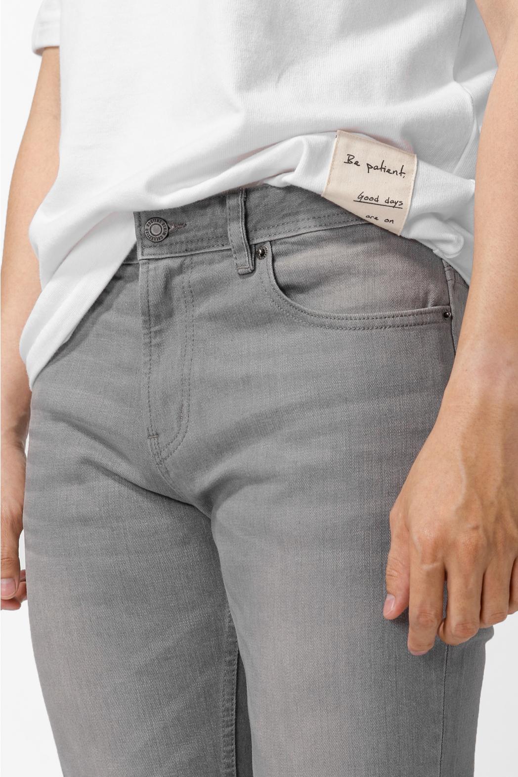 Quần Jean trơn. SLIM CROP form - 10F20DPA070