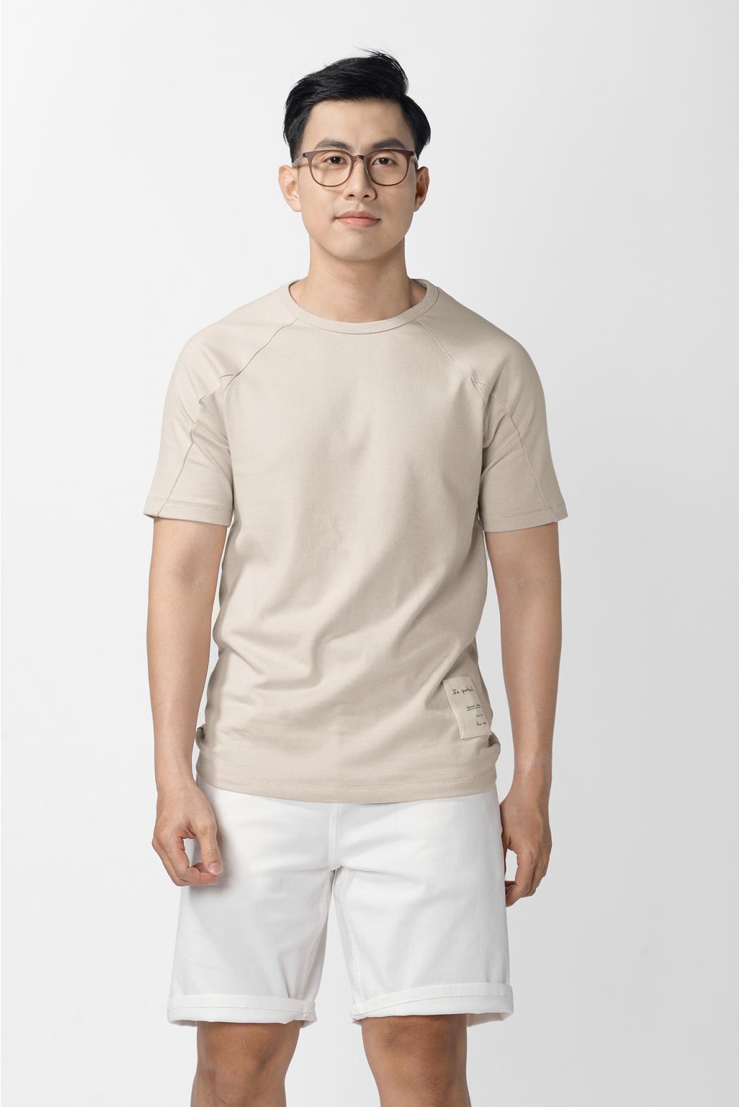 Áo thun tay ngắn, raglane. REGULAR form - 10F20TSH041