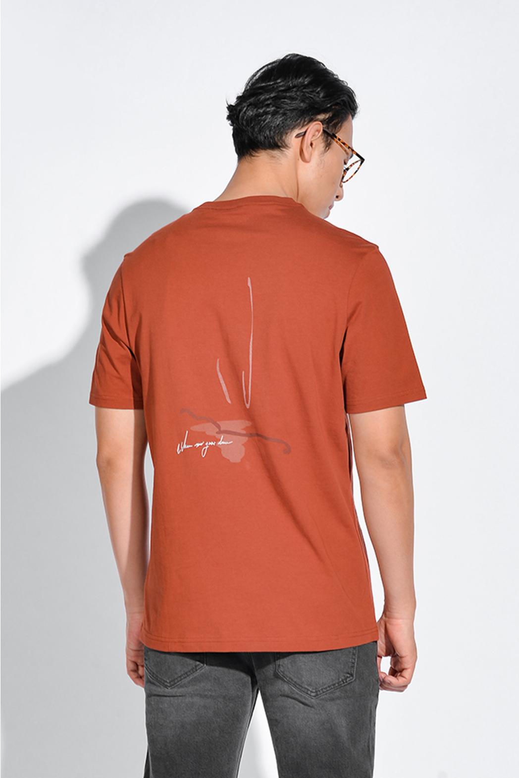 Áo thun PRINT. Cotton. REGULAR form - 10S20TSH028