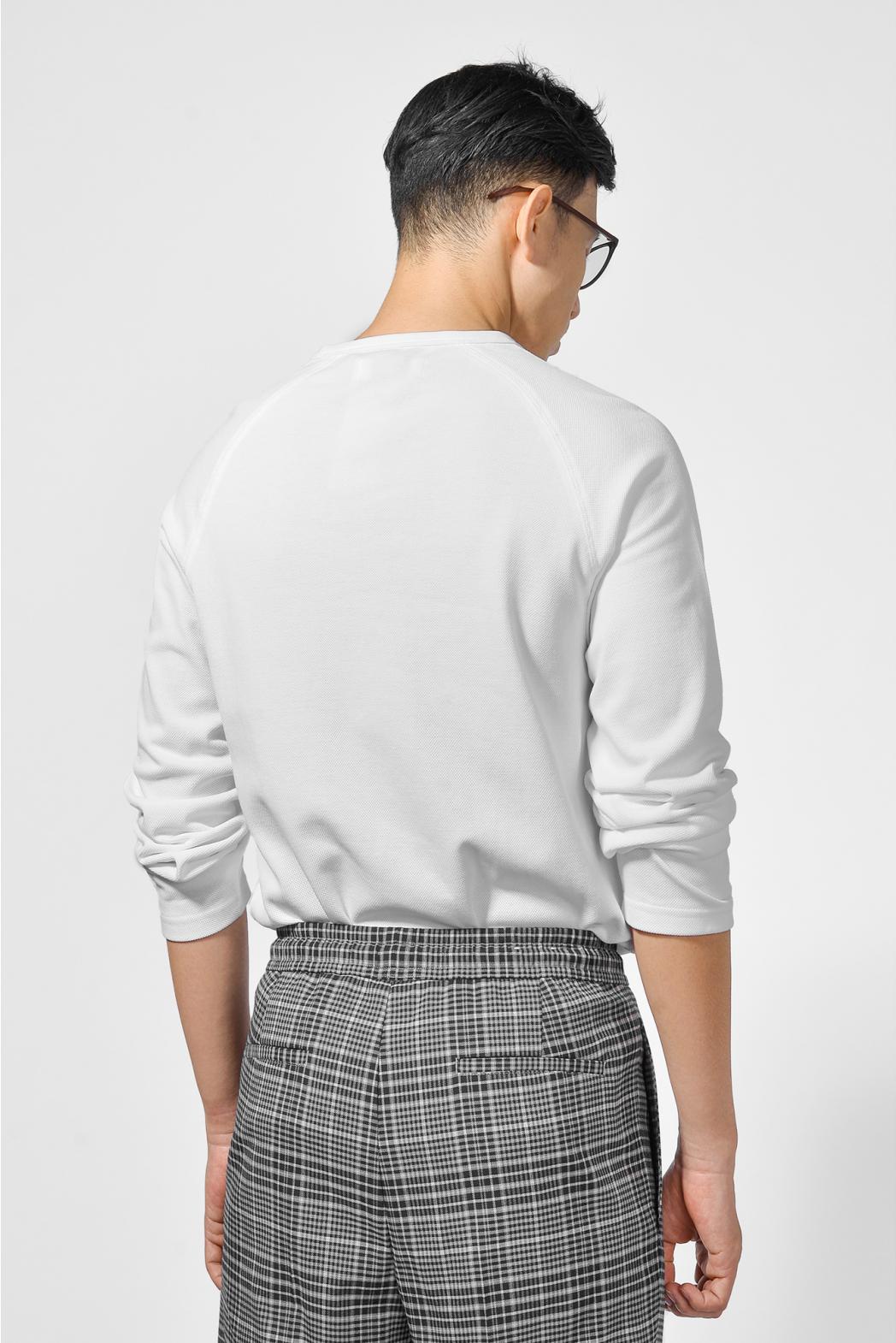 Áo thun tay dài, có túi. REGULAR form - 10F20TSH047