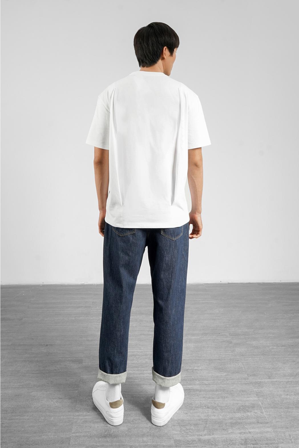 Áo thun tay ngắn, túi trước xéo. LOOSE form - 10S21TSH007